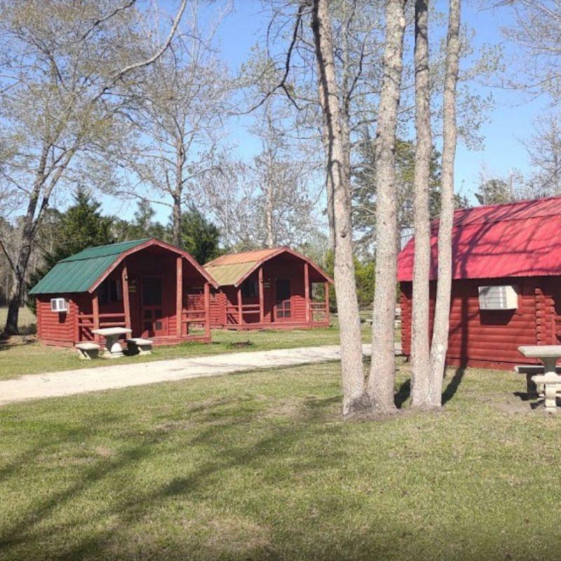 Cabin campground in Brunswick Beaches, NC