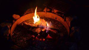 Fire Rings at Brunswick Beaches RV Resort