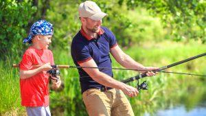 Fishing at Brunswick Beaches RV Resort