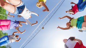 Volleyball at Brunswick Beaches RV Resort