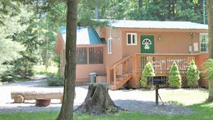 Campers Paradise Paradise West Cabin in PA