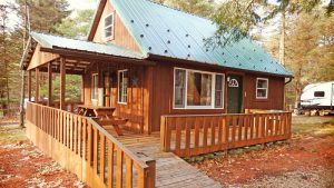 Campers Paradise Paps Cabin in PA