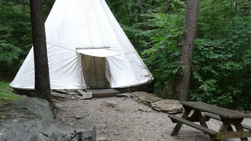 Campers Paradise Tipi Camp Site