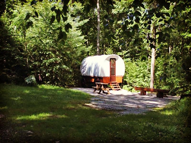 Covered Wagon Camping at Campers Paradise PA
