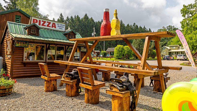 Campers Paradise Camp Cafe