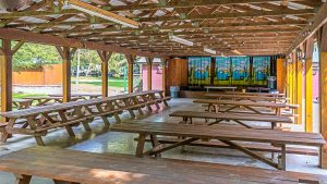 Campers Paradise Dining Hall in Sigel, PA