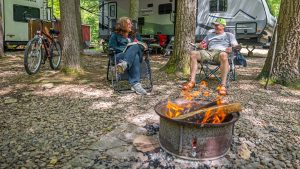 Campers Paradise Fire Rings in Sigel, PA