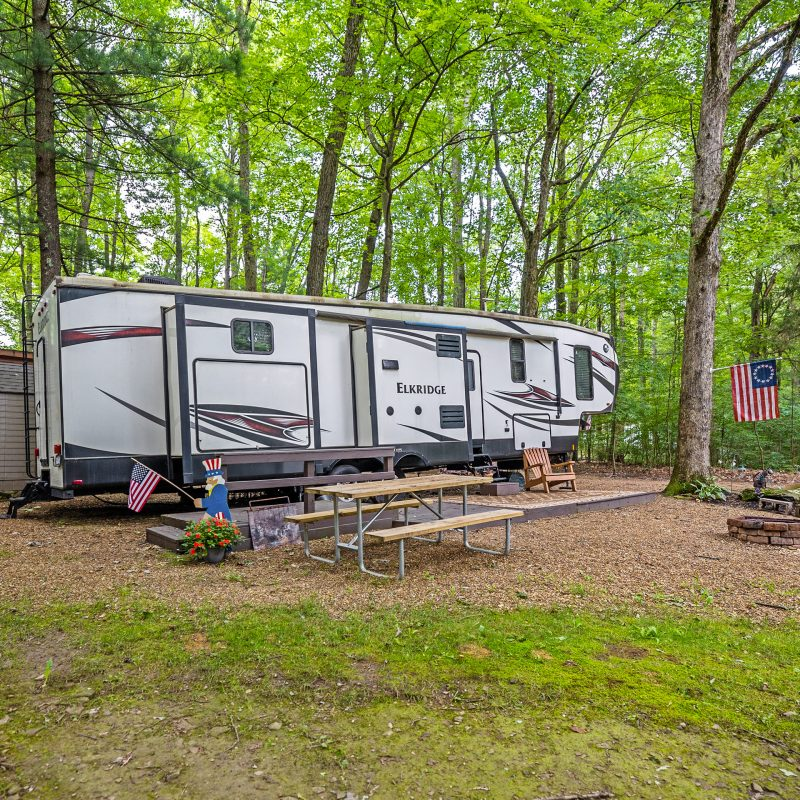 Campers Paradise RV Sites in Sigel, PA