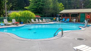 Campers Paradise Swimming Pool in Sigel, PA
