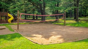 Campers Paradise Volleyball in Sigel, PA